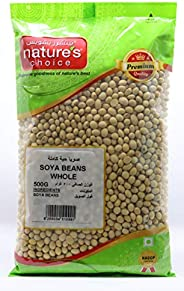 Natures Choice Soya Beans, 500 gm