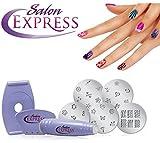 Abtrix Salon Express Nail Art Stamping Kit/ Birthday Gift/ Diwali Gift