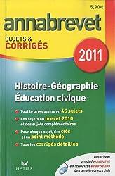 Histoire-Géographie-Education civique : Sujets et corrigés 2011