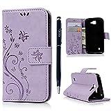 LG K4 Wallet Case LG K4 (4,5 Zoll) Schutzhülle YOKIRIN