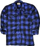 Mc Allister Holzfäller Hemd / 100% Cotton/dicke Qualität/S - 3XL Farbe Blau/Schwarz Größe XXXL
