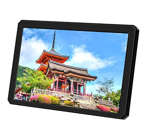 7 Zoll Mini Hdmi Tragbarer Monitor- 1280*800 IPS LCD Bildschirm,Stromversorgung über USB,Ultraleicht,Built-In Lautsprecher,Im Freien Lesbar Bildschirm Kompatibel für Raspberry PI/FPV/PS3/ PS4/Xbox/360/CCTV
