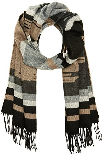 PIECES Damen Schal Pcjade Long Scarf Noos, Mehrfarbig (Ginger Snap), One Size