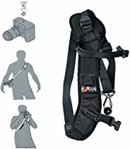 Top1Shop Camera Strap,Camera Sling Strap with Quick Release Plate, Adjustable and Comfortable Neck/Shoulder Be