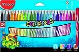 Helix Maped Jungle - Rotuladores de colores (24 unidades)