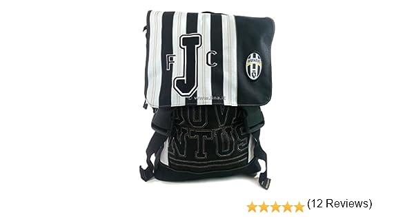 c15942a58a Zaino Scuola Estensibile Juventus Bianco Nero Scuola 2014/15 - GIO87040:  Amazon.it: Scarpe e borse