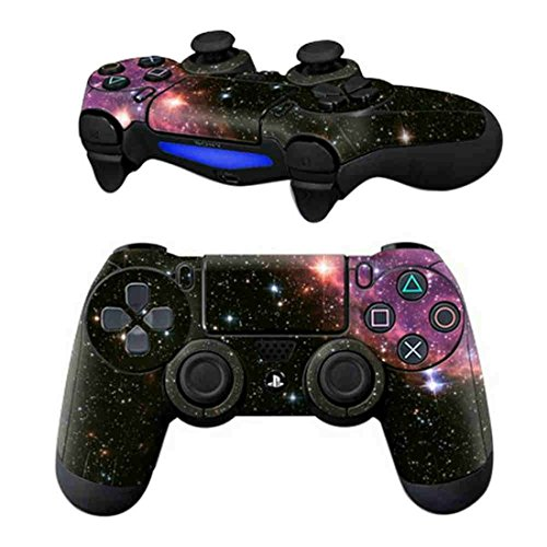 DOTBUY PS4 Controlador Diseñador Piel para Sony PlayStation 4 mando inalámbrico DualShock x 1 (Starry Pink)