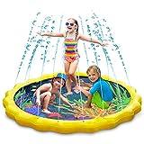 Keten Splash Pad, Outdoor Party Sprinkler Spritz Pad zum Lernen, Aufblasbares Wasserspielzeug für...