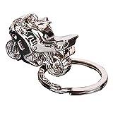 Da uomo regalo moto design ciondolo portachiavi fob anello massiccio lega Materiale: lega Colore: argento Diametro dell' anello: circa 3cm Motore Dimensioni (L x W): circa 3x 2cm Il pacchetto include: 1x motocicletta ciondolo portachiavi ...