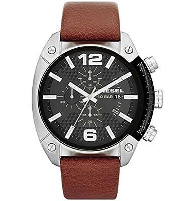 Diesel DZ4296 - Reloj de pulsera para Hombre, negro / marrón de DIFYX
