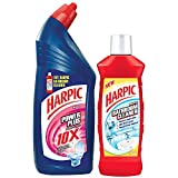 #7: Harpic Powerplus - 1L (Rose) with Bathroom Cleaner - 200ml (Any Variant)