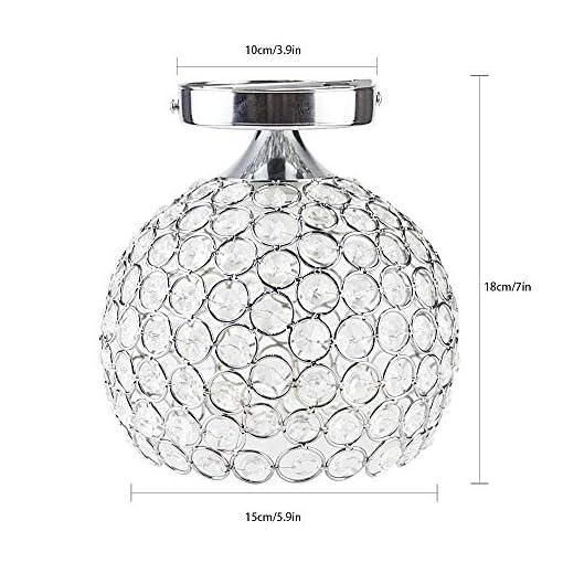 DAXGD Moderna Luce Del Soffitto Mini Lampade Da Soffitto Creativa Plafoniera Lampadario Con Paralume Per Corridoio, Scale, Ingresso