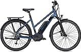 Morrsion E 6.0 28 Zoll Trapez blau/schwarz 55 cm 400 Wh