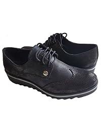 Les P'tites Bombes - Zapatos de Cordones de Material Sintético Mujer