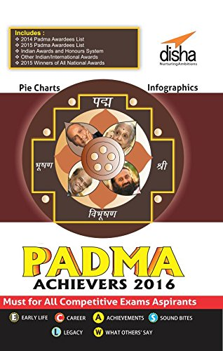The PADMA ACHIEVERS 2016