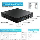 Bqeel Z83 II Mini PC Windows 10 Linux TV Box Mini Desktop-PC / Intel HD-Grafik / 2GB DDR3 + 32GB eMMC / 4K / 1000Mbps LAN / Dual-Band WiFi / Bluetooth 4.0 / USB 3.0 / HDMI / SD (Intel Atom x5-Z8350) - 5