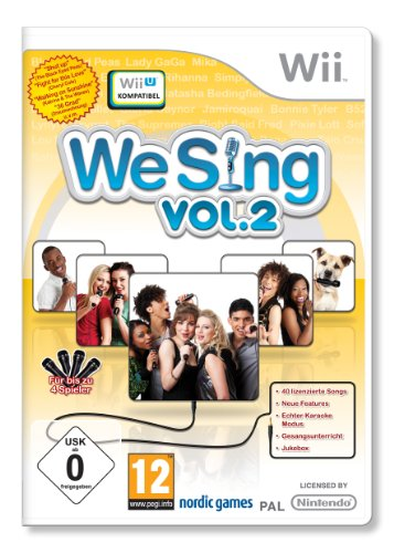 We Sing Vol. 2 - [Nintendo Wii]