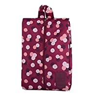 Aiming Multipattern Waterproof Nylon Portable Travel Shoe Storage Bag Pouch with Zip