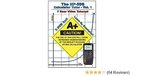 The HP 50g Calculator Tutor (Hewlett Packard): Amazon co uk