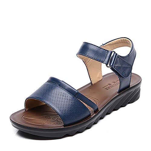 La Madre di sandali./Scivolare le scarpe delluomo anziano/ Suole morbide della nonna per ladies Sandals-A (10 Millimetri Sintetico Perle)