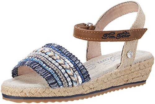 Tom Tailor 2770203, Bride cheville fille Blau (Blue)