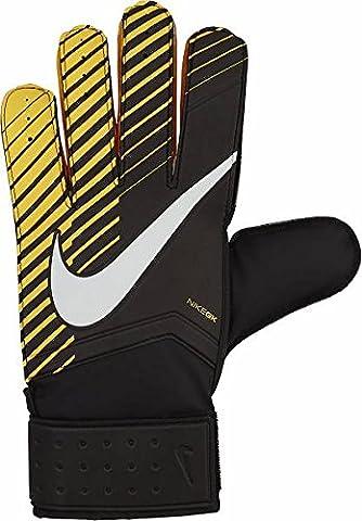Nike Unisex Goalkeeper Match-Laser Glove, Black/Laser Orange/White, Size