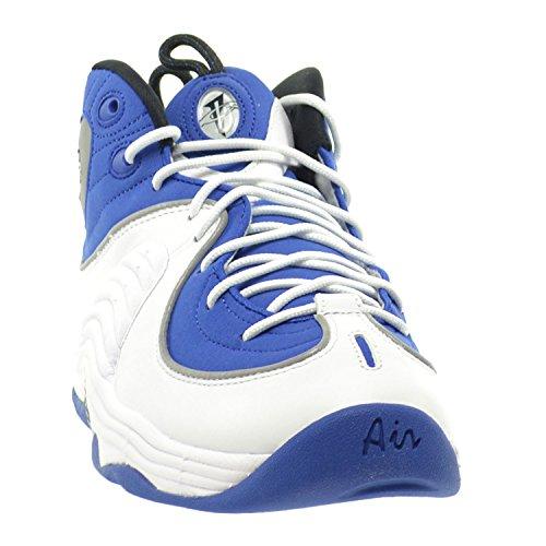 Nike Air Penny Ii, espadrilles de basket-ball homme cllg blue/blk-mtllc slvr-white
