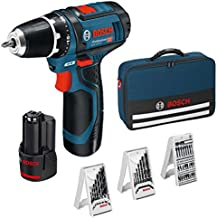 Bosch GSR Professional 12V - Atornillador, color Azul