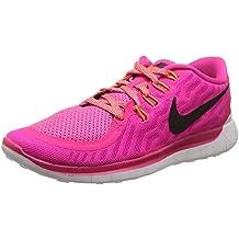 Nike Wmns Free 5.0 - Scarpe sportive (Fucsia Tessuto Calzature)