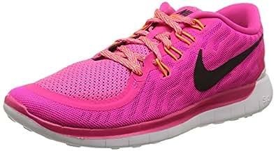 Nike, Men, , wmns free 5.0, multi (pnk foil/blk-pnk pw-brght ctrs), 3