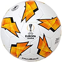 MOLTEN Replica de la UEFA Europa League-2810 - Balón de fútbol Oficial, Color Naranja, tamaño Talla 5
