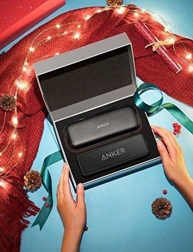 Speaker-Portatile-Bluetooth-Anker-SoundCore-2-Edizione-Natalizia-con-cavo-Audio-35mm-da-120-cm-e-Custodia-da-Viaggio-24-Ore-di-Riproduzione-20-metri-di-Raggio-Bluetooth-Resistente-allAcqua-IPX5-e-Micr