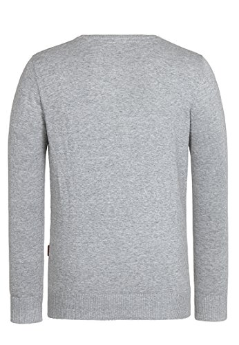 Naketano Male Knit Jedem Ass getrotzt III Grey Melange