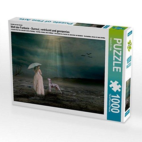 Ein Motiv aus dem Kalender Welt der Fantasie - Surreal, verträumt und grenzenlos 1000 Teile Puzzle quer