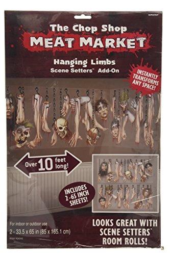 Amscan International 673401Scene Setter hinzufügen auf LG Chop Shop Party (Setters Halloween Scene)