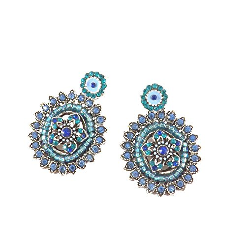 bcbg-boucles-doreille-vincent-filac-en-metal-argente-serties-de-cristaux-swarovskir-bleu-turquoise-h