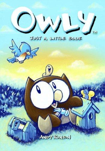 Portada del libro Owly, Vol. 2: Just A Little Blue (v. 2) by Andy Runton (2005-03-31)