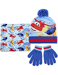 Made in Trade - 2200002443 - Echarpe - Bonnet et Gants Super Wings - Taille Unique