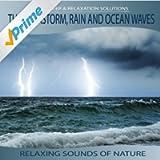 Thunderstorm, Rain, Ocean Waves - Relaxing Sounds of Nature