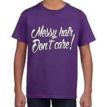 Cables Don 't de pelo de para el cuidado de la ropa de descanso para niñas o de infantil con forma de T-camiseta de manga corta palo de golf para niños - 5 colores
