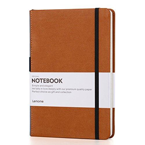 Blanko Notizbuch/Blank Notebook - Lemome Sketchbook mit Premium Dickes Papier - Trennblätter Geschenk - Hardcover Plain Journal, A5, 8,4 x 5,7 Zoll