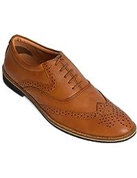 Kolapuri Centre Tan Colored Shoes