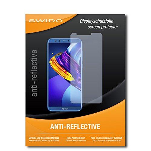 SWIDO Schutzfolie für Huawei Honor 9 Lite [2 Stück] Anti-Reflex MATT Entspiegelnd, Hoher Härtegrad, Schutz vor Kratzer/Displayschutz, Displayschutzfolie, Panzerglas-Folie
