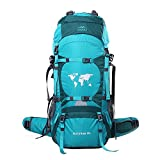 Topsky Zaino Impermeabile da Trekking Multifunzione 70 litro, 3844 cu in