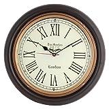 Artshai Antique Look Silent Wall Clock. ...