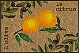 Wash&Dry Fußmatte Le Citron 50x75 cm