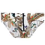 YCQUE Mode Männer Täglich Patchwork Gedruckt Unterwäsche Druck Dreieckige Boxer Briefs Shorts Bulge Pouch Unterhose