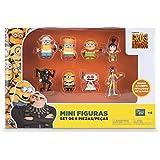 Minions - Pack de 8 mini figuras (Bizak 61230017)