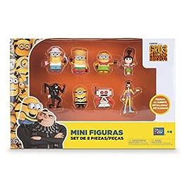 Bizak Minions – Pack de 8 Mini Figuras 61230017