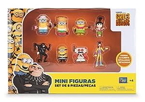 Bizak Minions - Pack de 8 Mini Figuras 61230017